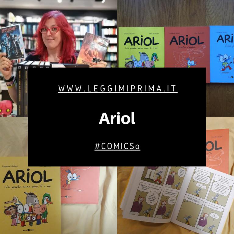 Read more about the article Fumetti per bambini: ARIOL. Di Elisa Comisso