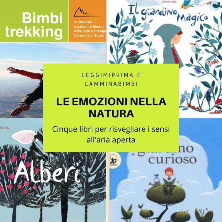 Emozioni all'aria aperta: cinque libri per ritrovare il contatto con la natura.