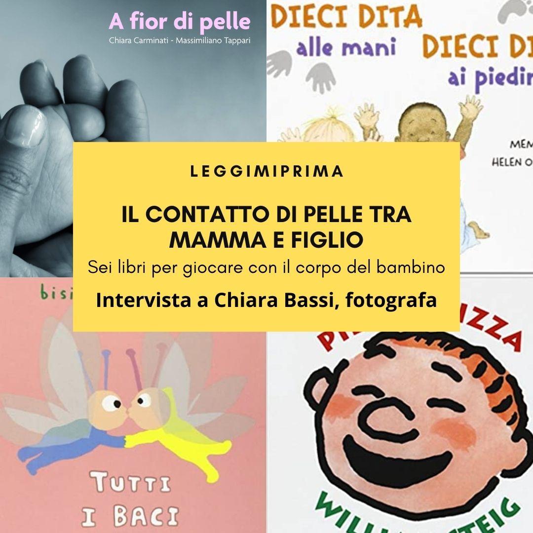 Il contatto tra mamma e figlio: sei libri per amarsi pelle a pelle.