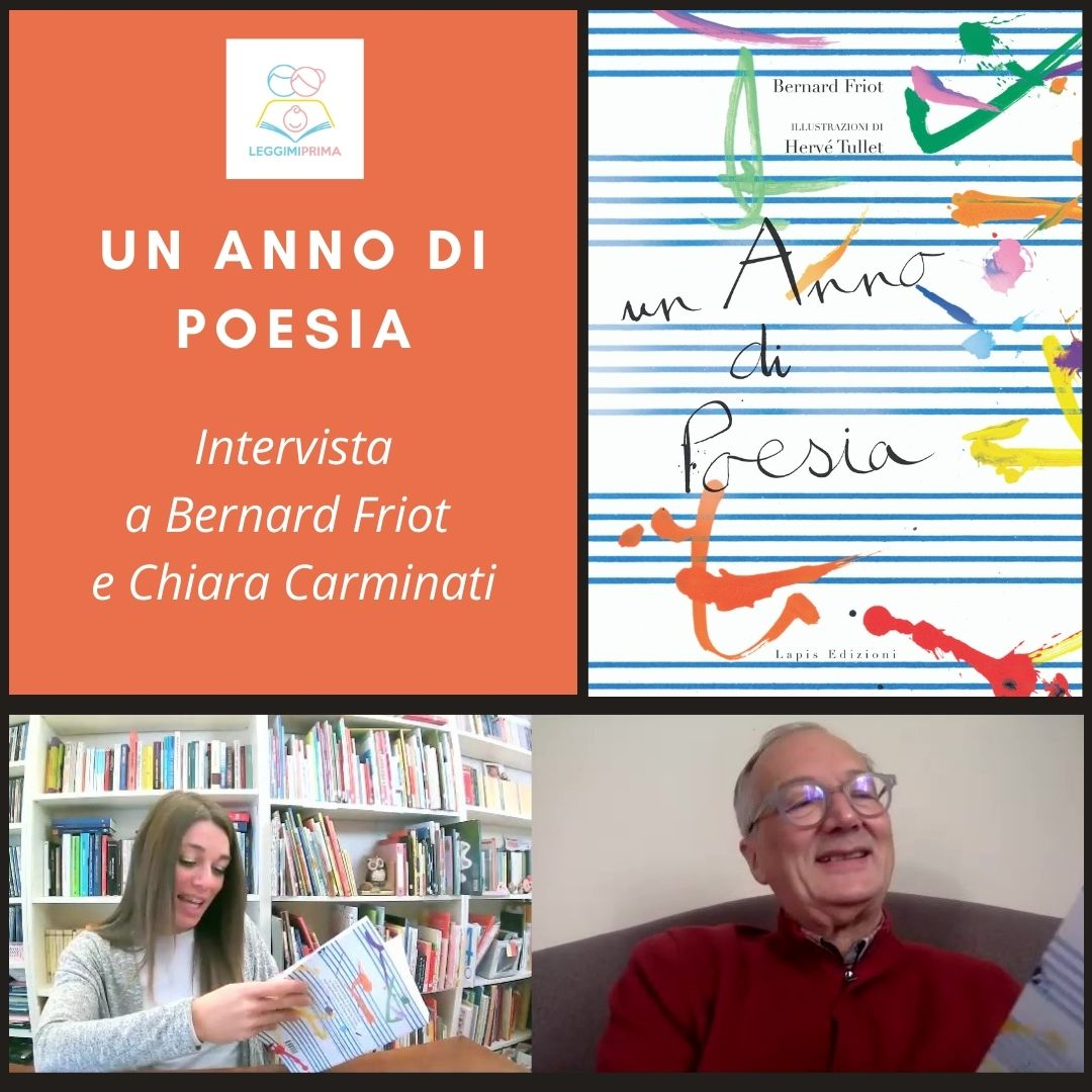 Un anno di poesia, Bernard Friot, Hervé Tullet, Chiara Carminati, Lapis edizioni