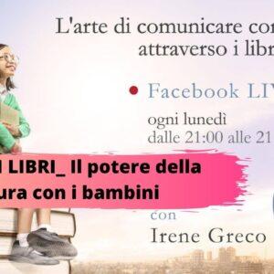 LIBRI SUI LIBRI_ Albi illustrati e divulgazione per il gesto della lettura condivisa. DIRETTA FACEBOOK