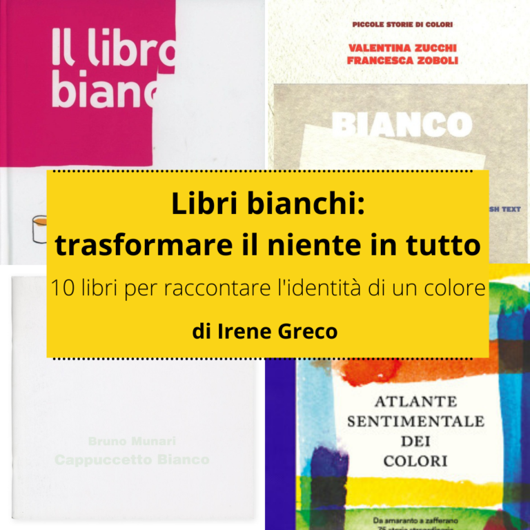 Read more about the article I libri e il bianco: la magia di trasformare il niente in tutto