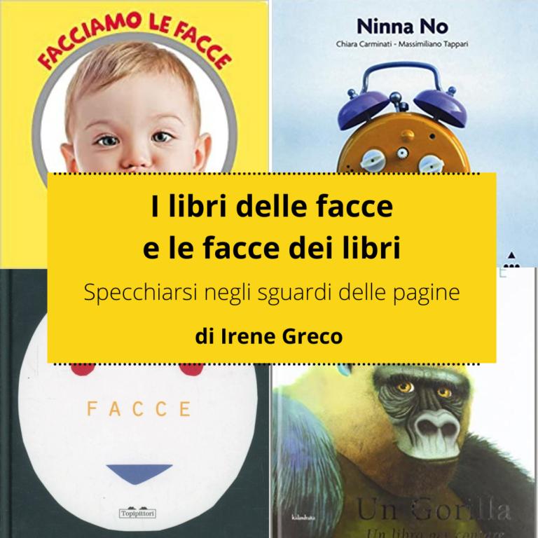 Read more about the article I libri delle facce e le facce dei libri: specchiarsi negli sguardi delle pagine
