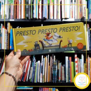 Read more about the article PRESTO PRESTO PRESTO! Il nuovo albo di Clotilde Perrin